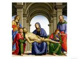 Pieta, c.1494-95 Lámina giclée por Pietro Perugino