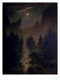 Clearing in the Forest Giclée-vedos tekijänä Caspar David Friedrich