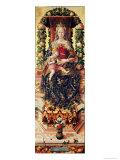 The Madonna of the Little Candle Giclée-vedos tekijänä Carlo Crivelli