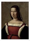 Portrait of a Woman, 1509 Giclée-tryk af Ridolfo Ghirlandaio