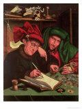 The Usurers, After Massys Giclee Print by Marinus van Roejmerswaelen