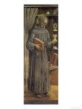 St. James Della Marca Giclée-tryk af Vittore Crivelli