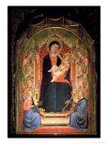 Madonna and Child, 1347 Giclée-tryk af Bernardo Daddi
