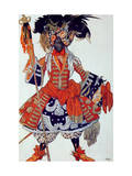 Costume Design For the Queen's Guard, from Sleeping Beauty, 1921 Giclee Print by Leon Bakst