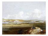 Fort Pierre, Missouri, Plate 10, Travels in the Interior of North America Stampa giclée di Karl Bodmer