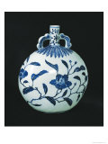 Pilgrim's 'Blue and White' Gourd with Floral Decorations, c.1403-24 Gicléedruk