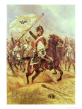Le Trophee, 1806, 4th Dragoon Regiment, 1898 Giclee Print by Jean-Baptiste Edouard Detaille
