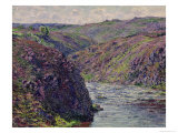 Ravines of the Creuse at the End of the Day, 1889 Giclée-Druck von Claude Monet