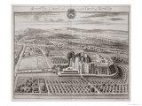 Berkeley Castle, Seat of the Earl of Berkeley Giclee Print by Johannes Kip
