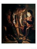 St. Joseph, the Carpenter Giclee Print by Georges de La Tour