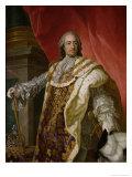Louis XV Giclee Print by Louis-Michel van Loo