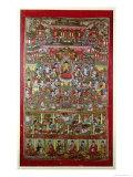 Paradise of Amitabha, from Dunhuang, Gansu Province Gicléedruk