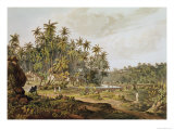 View Near Point du Galle, Ceylon, Engraved by Daniel Havell Giclee Print by Henry Salt