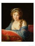 The Countess Catherine Vassilievna Skavronskaia Giclée-Druck von Elisabeth Louise Vigee-LeBrun