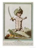 Petit Pepin, from Les Ecarts de La Nature, Paris, 1775 Giclee Print by Genevieve Regnault De Nangis
