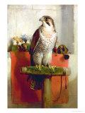 Falcon, 1837 Giclée-tryk af Edwin Henry Landseer