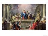 Pentecost, 1732 Giclee Print by Jean Restout II