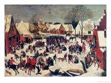 The Massacre of the Innocents, 1593 Giclée-vedos tekijänä Pieter Brueghel the Younger