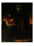 Alchemist Searching For the Philisopher's Stone, 1848 Giclée-Druck von Jean Hegesippe Vetter