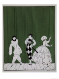 Carnaval, from the Series Designs on the Dances of Vaslav Nijinsky Reproduction procédé giclée par Georges Barbier