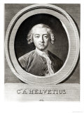 Portrait of Claude Adrien Helvetius Giclee Print by Carle van Loo