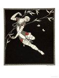 L'Oiseau de Feu, from the Series Designs on the Dances of Vaslav Nijinsky Reproduction procédé giclée par Georges Barbier