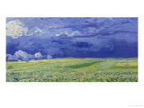 Wheatfields under Thunderclouds, 1890 Giclee Print by Vincent van Gogh