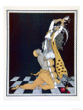 Scheherazade, from the Series Designs on the Dances of Vaslav Nijinsky Reproduction procédé giclée par Georges Barbier