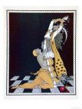 Scheherazade, from the Series Designs on the Dances of Vaslav Nijinsky Giclee Print by Georges Barbier