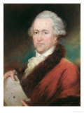 Portrait of Sir William Herschel Giclee Print by John Russell