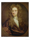 Portrait of Isaac Newton Giclee Print by Godfrey Kneller