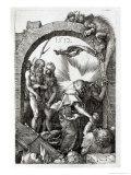 Harrowing of Hell or Christ's Descent Into Limbo, 1512 Reproduction procédé giclée par Albrecht Dürer