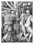 The Expulsion from Paradise, 1510 Reproduction procédé giclée par Albrecht Dürer