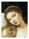 Venus of Urbino, Before 1538 Giclée-tryk af  Titian (Tiziano Vecelli)