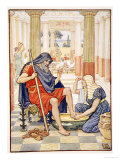 Yea, Verily, Thou Art Odysseus', Illustration from the Story of Greece by Mary Macgregor Impressão giclée por Walter Crane
