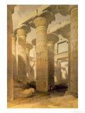 Hall of Columns, Karnak, from Egypt and Nubia, Vol.1 Giclee Print by David Roberts