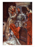 They Would Take Him to the Armoury Before He Left Them, the Pilgrim's Progress, c.1907 Giclee Print by John Byam Shaw