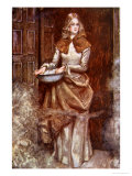 Bring Hither the Water and Sprinkle the Room', The Pilgrim's Progress Macgregor, Pub.Jack, 1907 Giclee Print by John Byam Shaw