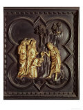 St. John the Baptist Baptising in the River Jordan, South Doors, Baptistry of San Giovanni, 1336 Giclee Print by Andrea Pisano