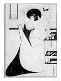The Toilet of Salome, Illustration For the English Edition of Oscar Wilde's Play 'salome', 1894 Reproduction procédé giclée par Aubrey Beardsley