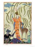 Persia, Illustration from The Art of Perfume, Pub. 1912 Reproduction procédé giclée par Georges Barbier