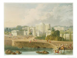 British Residency at Hyderabad in 1813, Vol.II, Scenery, Costumes and Architecture of India Giclee Print by Captain Robert M. Grindlay