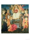 The Madonna of the Sacred Girdle, 1456 Giclée-tryk af Fra Filippo Lippi