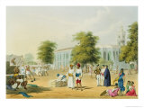 Bombay, from Volume I of Scenery, Costumes and Architecture of India, Engraved by R.G. Reeve Giclee Print by Captain Robert M. Grindlay