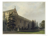 St. John's College, 'History of Oxford', Engraved by J. Hill, Pub. by R. Ackermann, 1813 Giclee Print by Frederick Mackenzie