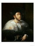 Portrait of a Man, Possibly Cesare Borgia Giclée-tryk af Dosso Dossi