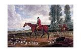 Horse Fox Hunt II Plakater af Timothy Blossom