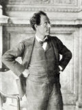 Portrait of Gustav Mahler, 1907 Photographic Print