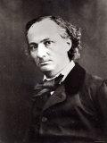 Charles Baudelaire Fotografisk trykk av  Nadar