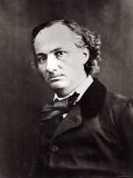 Charles Baudelaire Photographic Print by  Nadar